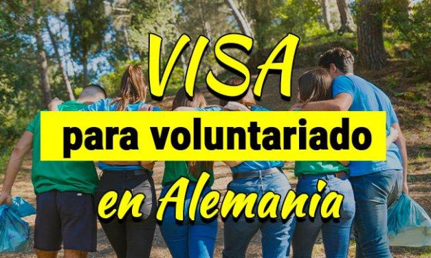 Visa para voluntariado en Alemania
