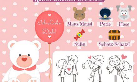 Vocabulario en alemán – amor