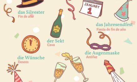 Vocabulario en alemán: año nuevo