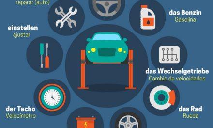 Vocabulario en alemán – el coche