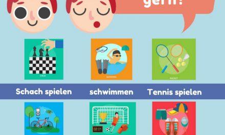 Vocabulario en alemán – los hobbies