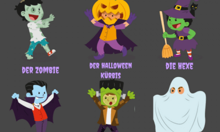 Vocabulario en alemán: Halloween