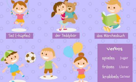 Vocabulario en alemán: los niños