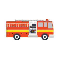vocabulario en aleman transporte bomberos