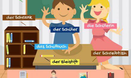 Vocabulario alemán: la escuela