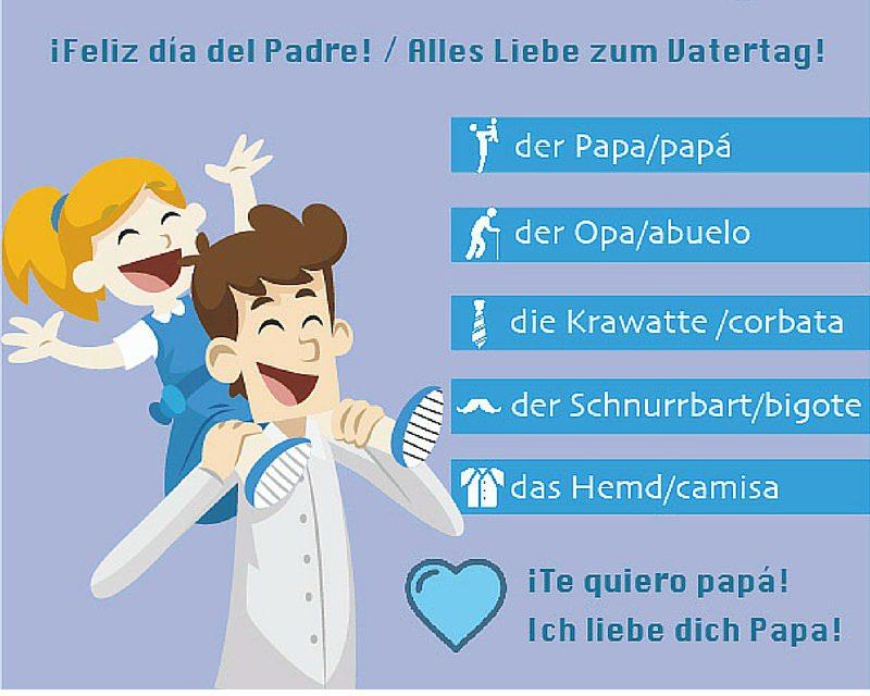Vocabulario alemán sobre papá